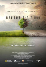 (diretto da) Fisher Stevens, BEFORE THE FLOOD, Punto di non ritorno, documentario USA 2016
